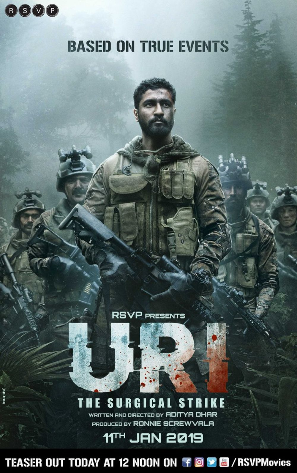 Uri - The Surgical Strike Movie Review Hindi Movie Review