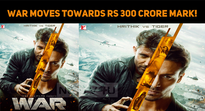 War Moves Towards Rs 300 Crore Mark!