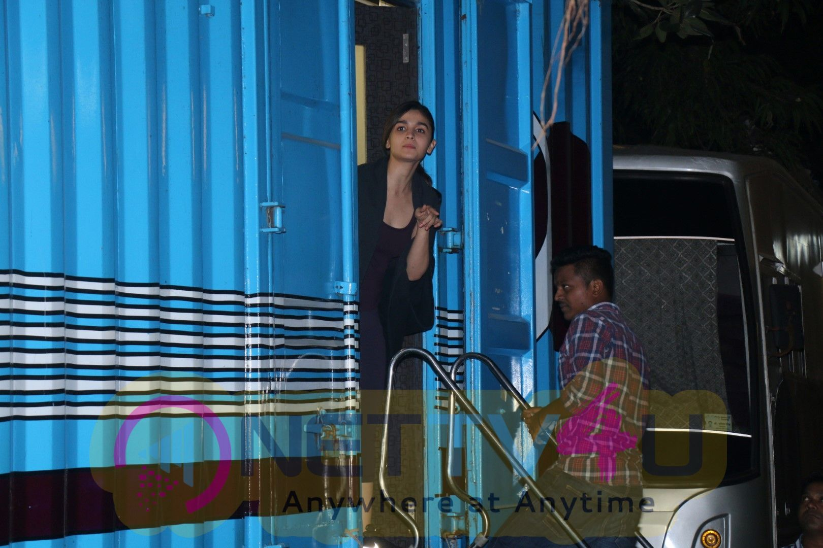 Alia Bhatt Spotted At Mehboob Studio Pics