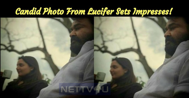 Candid Photo From Lucifer Sets Impresses!