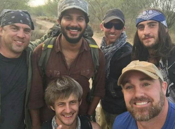 Dulquer's Day Out With Foreign Fighters!