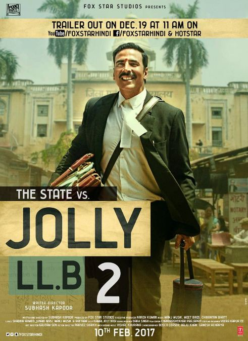 Jolly LLB 2 Trailer On 19th December!