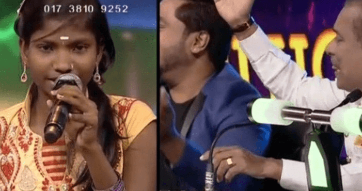 Girl Hailing From Poor Family Turns A Star In Singing Competition