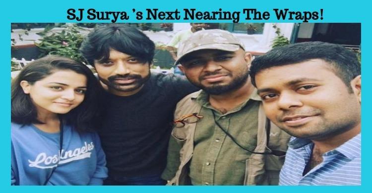 SJ Surya's Next Nearing The Wraps!