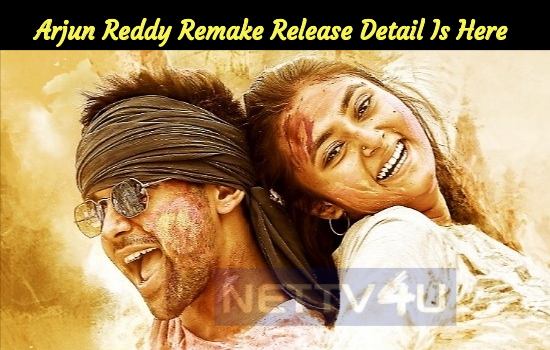 Arjun Reddy Remake Release Detail Is Here…
