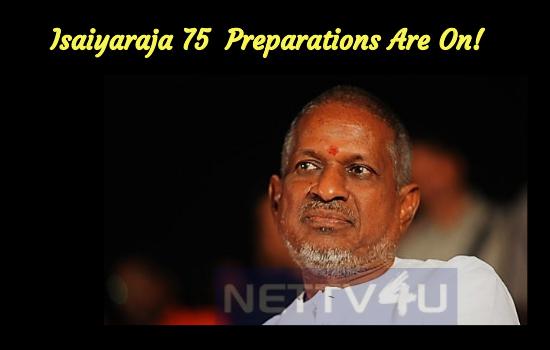 Isaiyaraja 75 Fundraiser Preparations Are On!