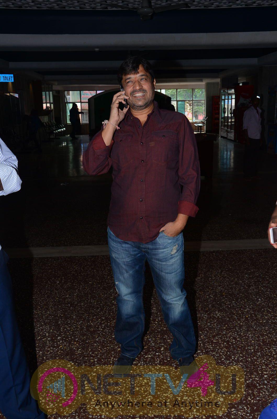 Sathamanam Bhavathi Movie Team At Sandhya 35Mm Photos