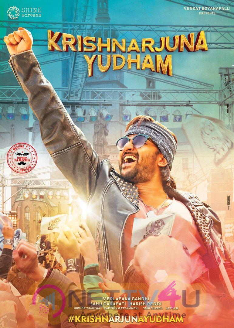 Krishnarjuna Yuddham Movie Posters Telugu Gallery