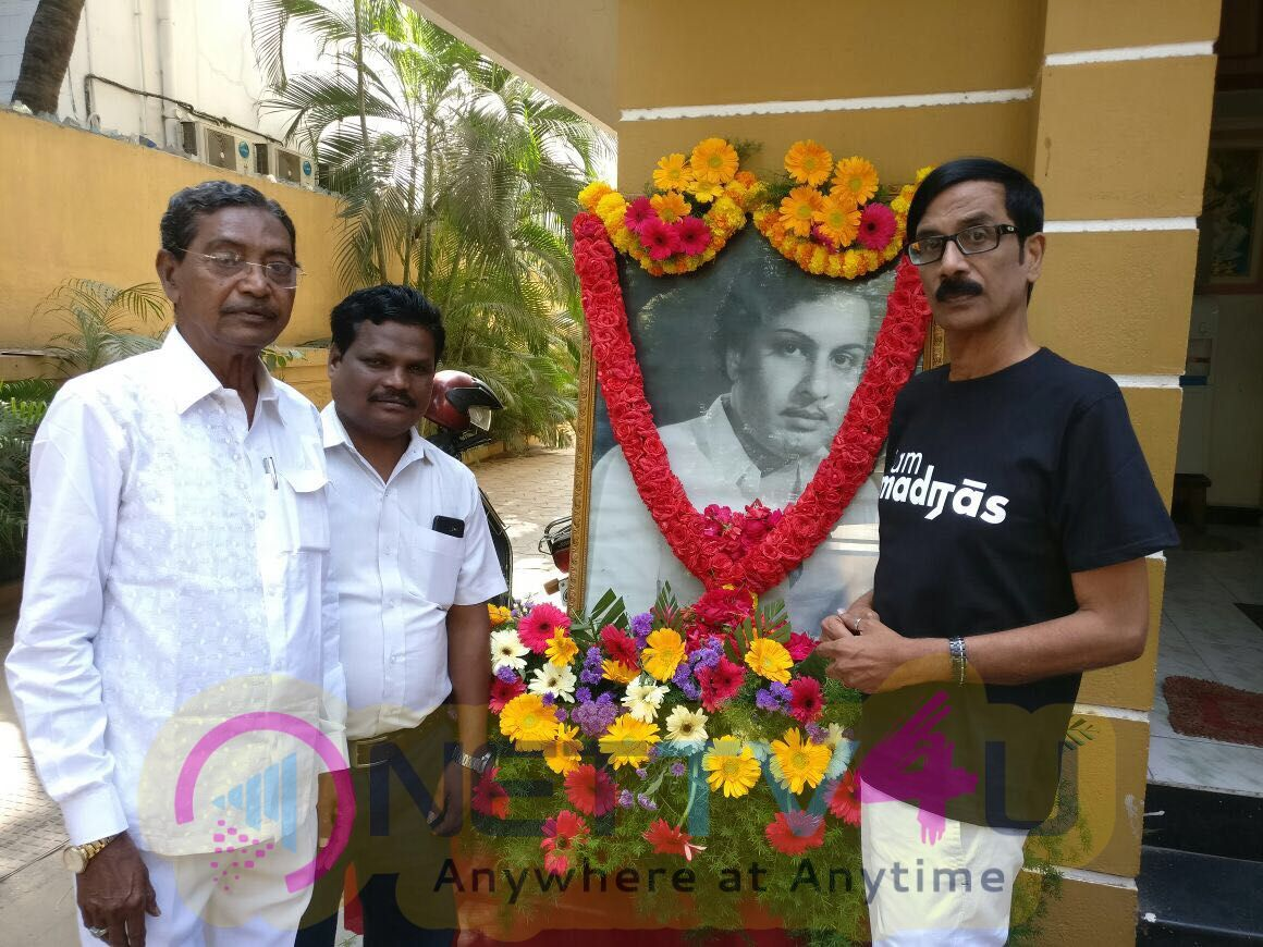 Nadigar Sangam Respect To MGR 101th Birthday Event Images