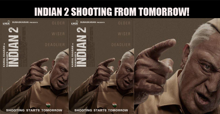 Indian 2 Shooting From Tomorrow!