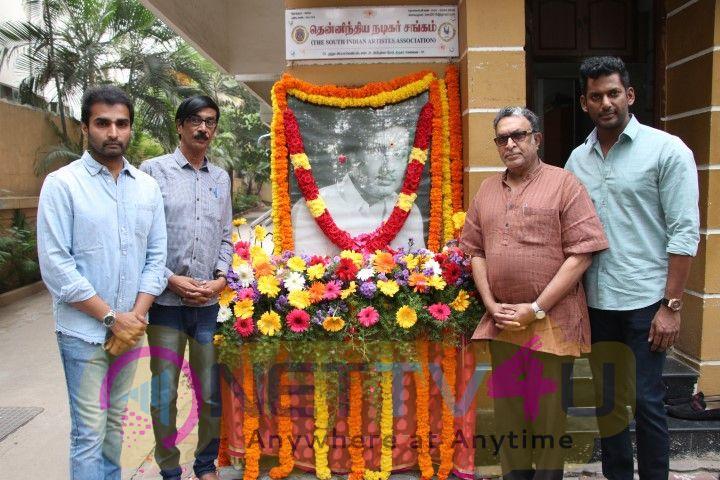 Puratchi Thalaivar M.G.R. 102nd Birthday Celebration In Nadigar Sangam Tamil Gallery