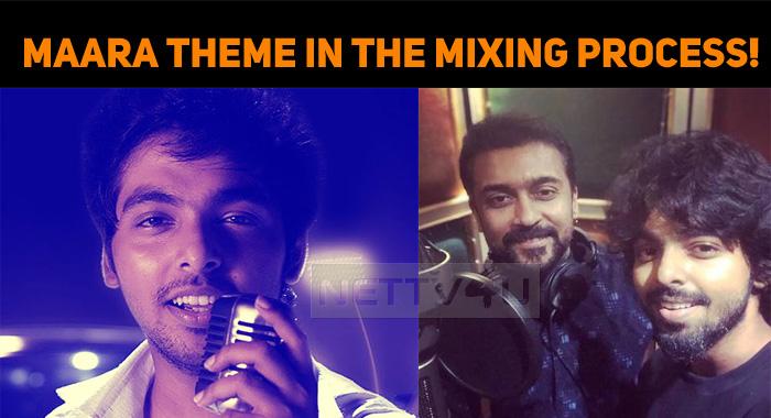 Maara Theme In The Mixing Process!