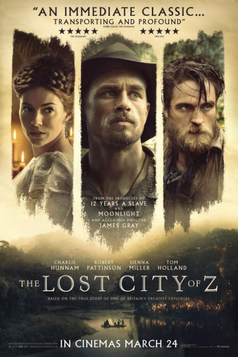 The Lost City of Z Movie Review English Movie Review