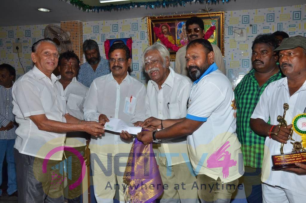 Actor Vijay Sethupathi At Stunt Union 51 Years Function Pics