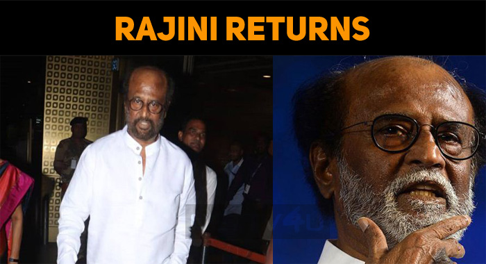 Superstar Breaks Darbar Schedule To Vote!