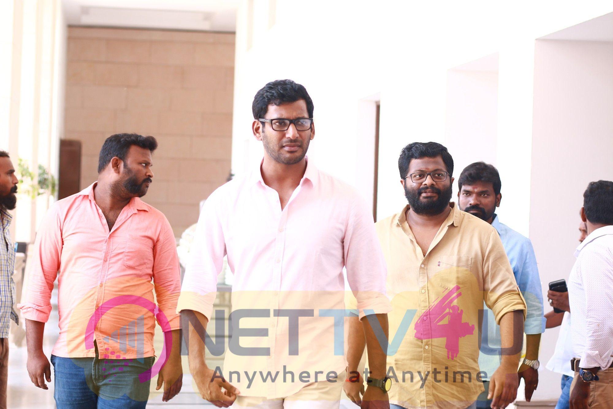 Irumbuthirai Movie Success Meet Images