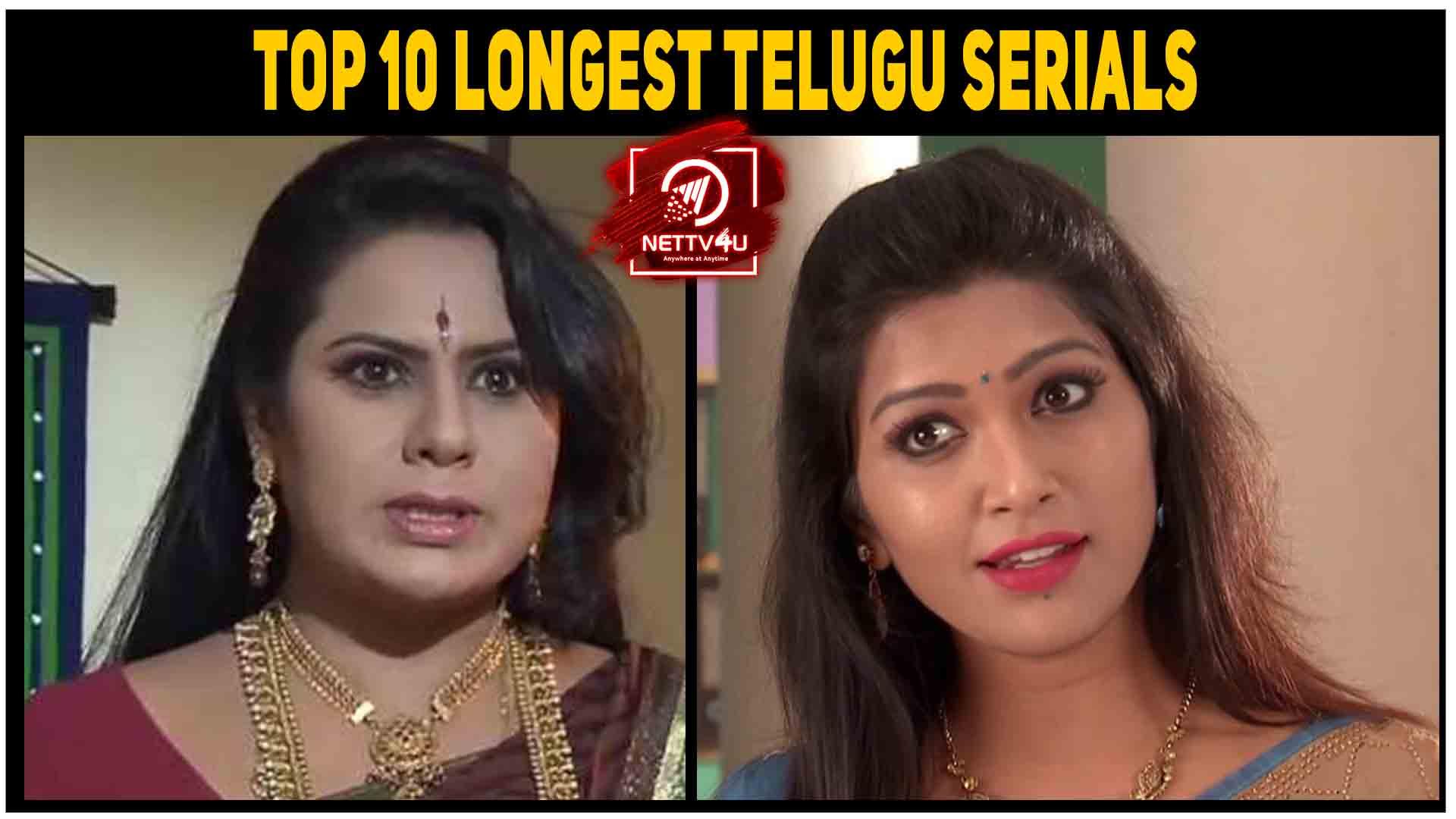 Top 10 Longest Telugu Serials | Latest Articles | NETTV4U