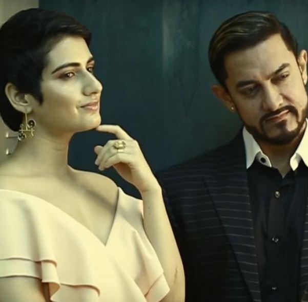 Aamir Khan Eyes His On-Screen Daughter Fatima Sana Shaik!?