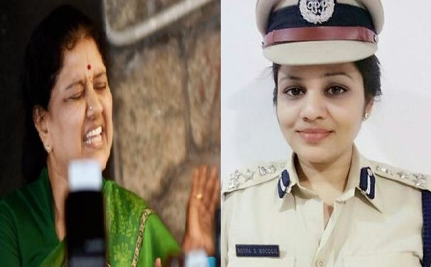 Karnataka Government Transferred Roopa As She Revealed About Sasikala! Tamil News