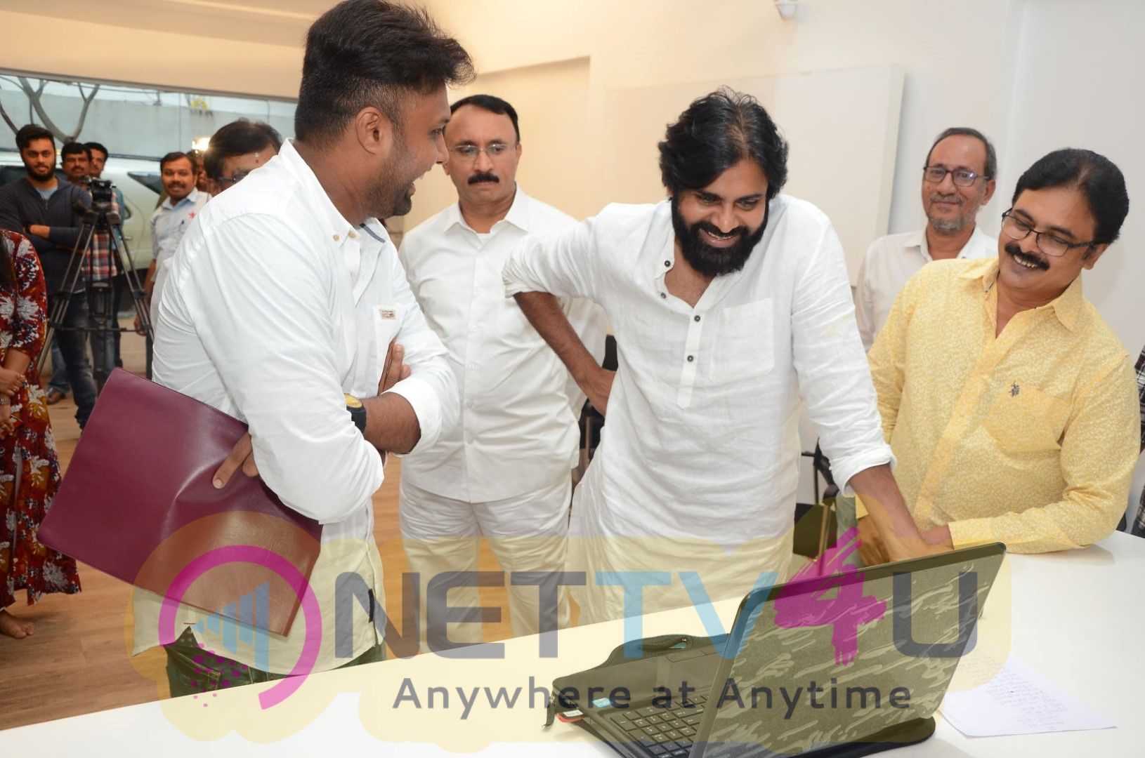 Powerstar Pawan Kalyan Launched Aatagadhara Siva Yettaagayya Shiva Song Event Images