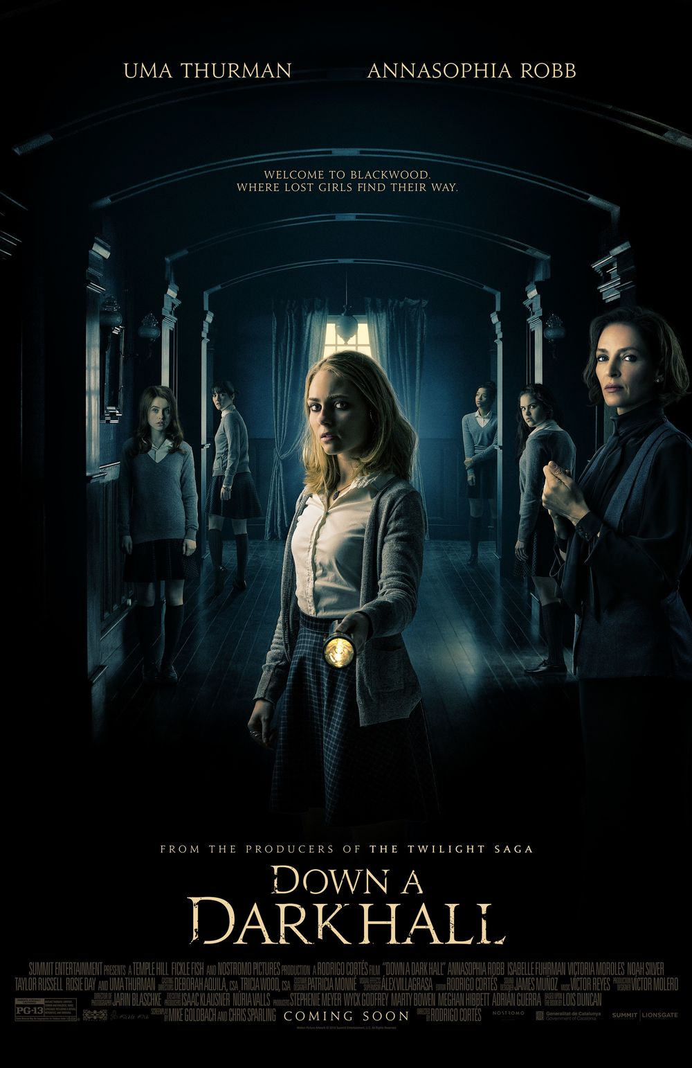 Down A Dark Hall Movie Review English Movie Review