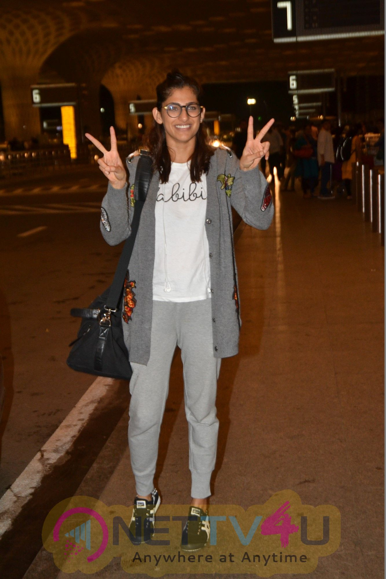 Kubra Sait Spotted At Airport Cute Images