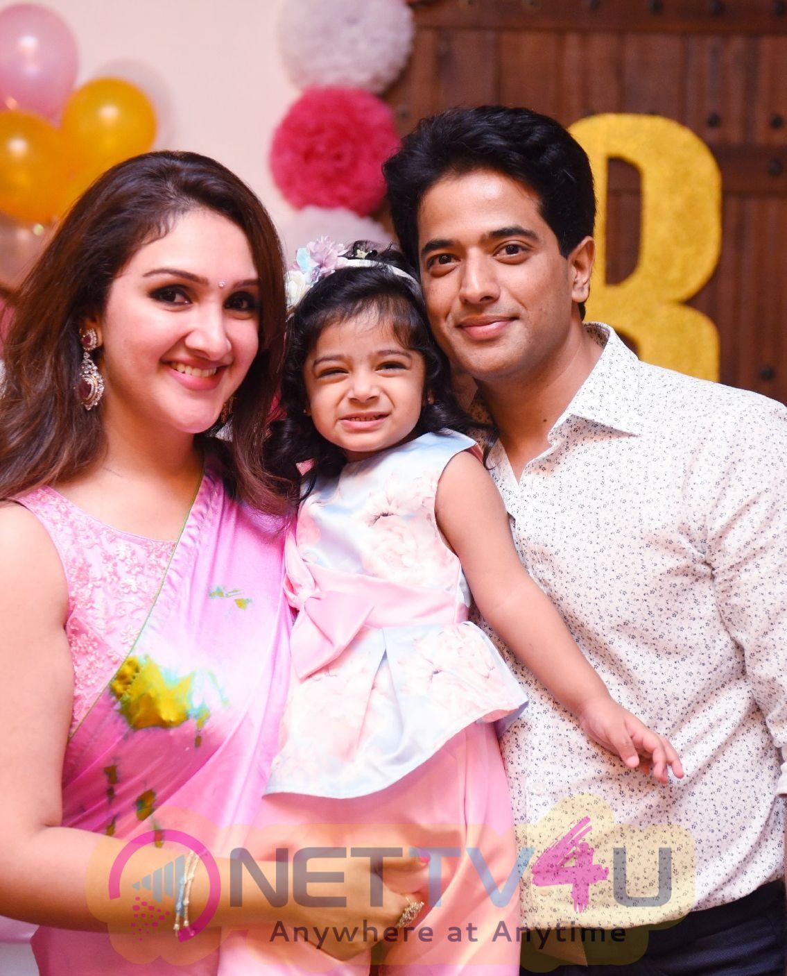 Mrs.Sridevi Vijaykumar  Daughter Rupikaa 2nd Year Birthday Celebration Photos