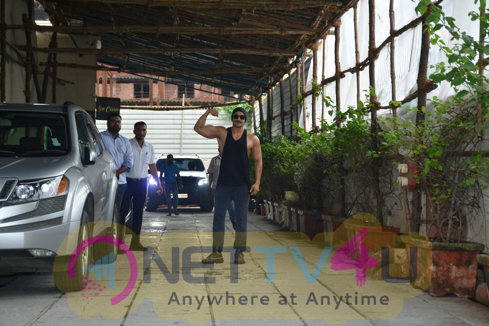 Ranveer Singh Spotted At Gym In Bandra Superb Images