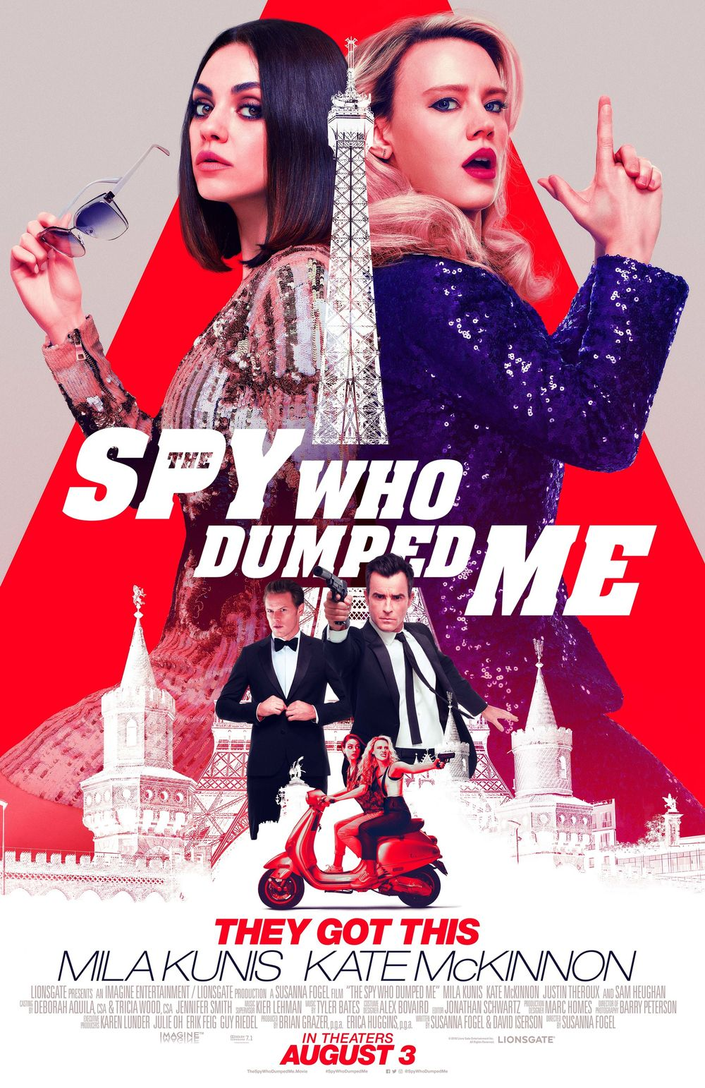 The Spy Who Dumped Me Movie Review English Movie Review