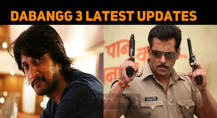 Salman Khan - Sudeep's Dabangg 3 Latest Updates..
