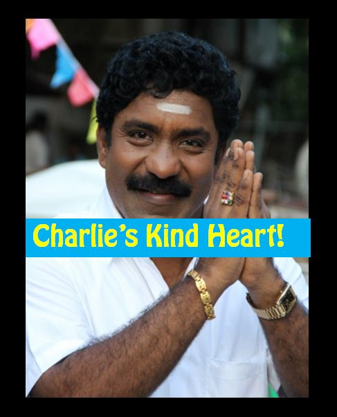 No Publicity! Charle's Soft Heart Touches Us!