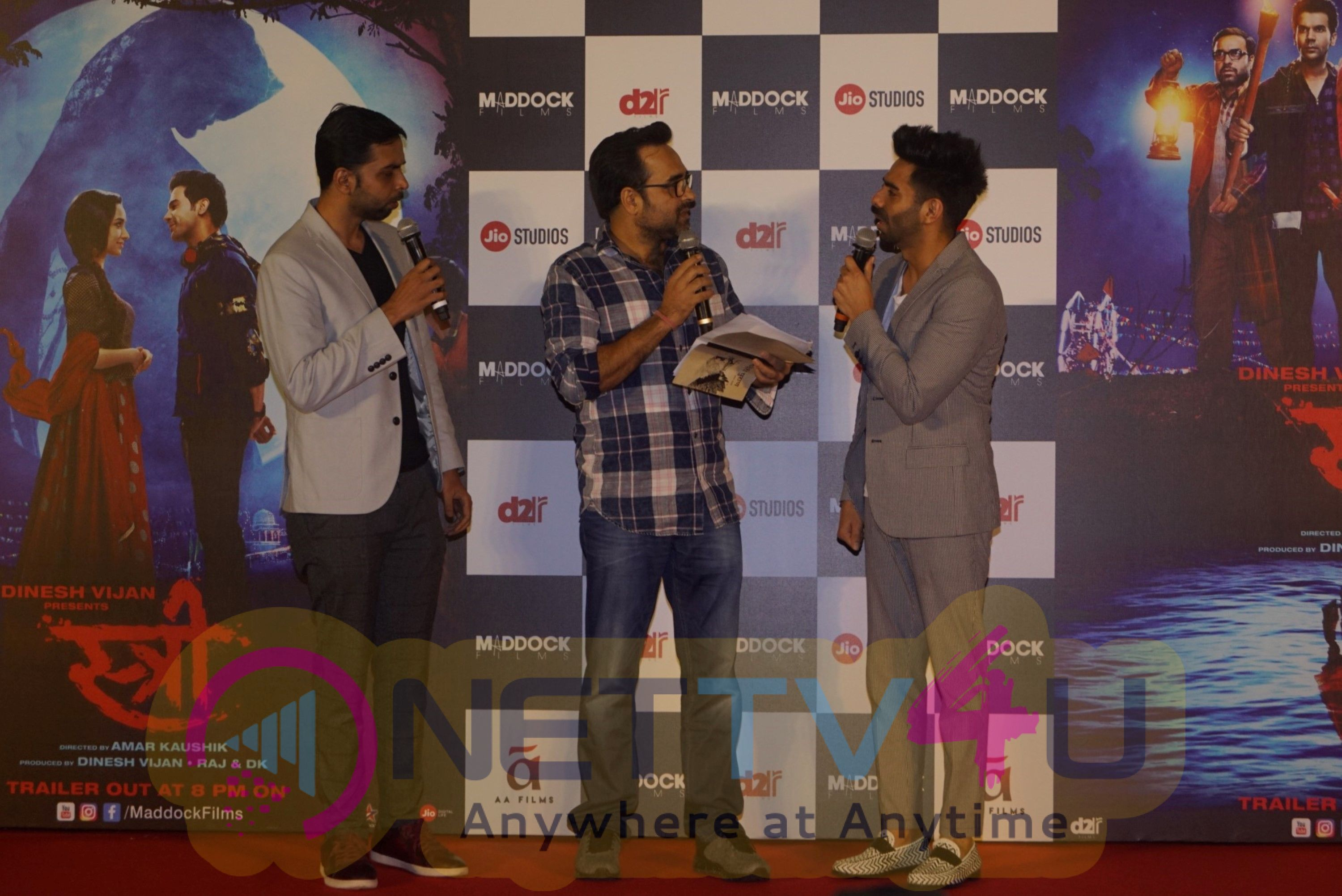 Stree Movie Trailer Launch Hindi Gallery