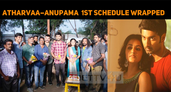 Atharvaa – Anupama Wrap Up Their First Schedule..