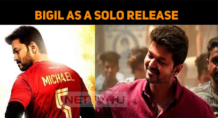Bigil As A Solo Release! Pataas And Sangathamiz..