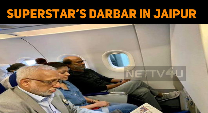 Darbar Team Heading To Jaipur!