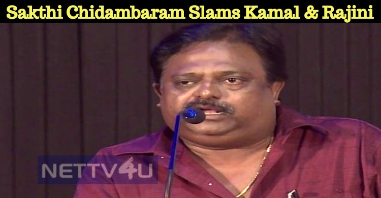 Director Sakthi Chidambaram Takes A Dig At Kama..