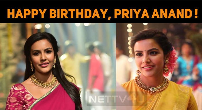 Priya Anand Celebrates Her Birthday, Today!