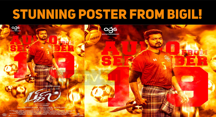 Stunning Poster From Bigil!