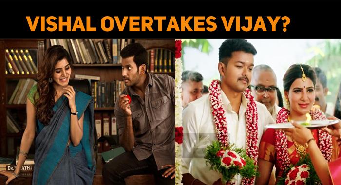 Vishal Overtakes Vijay? Lucky Charm Sam!