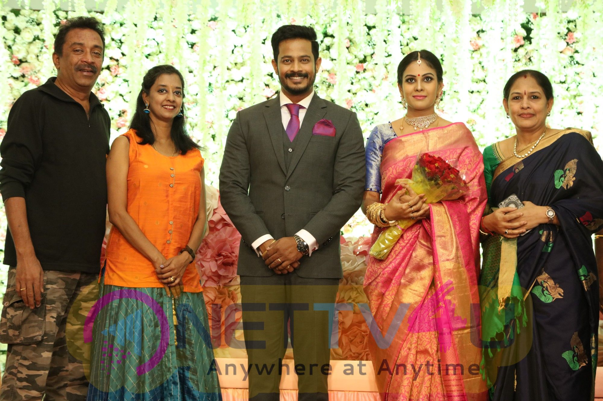 Actress Chandini Tamilarasan Wedding Stills Tamil Gallery