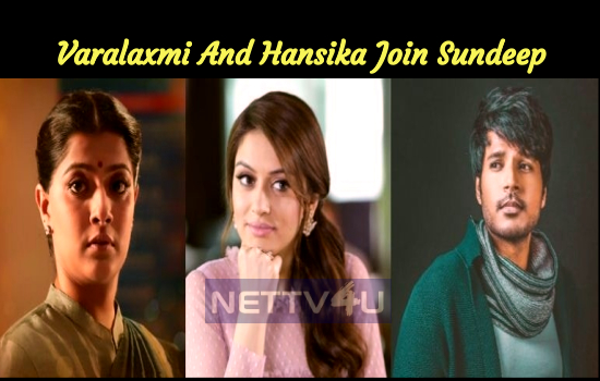 Varalaxmi And Hansika Join Sundeep In Tenali Ra..