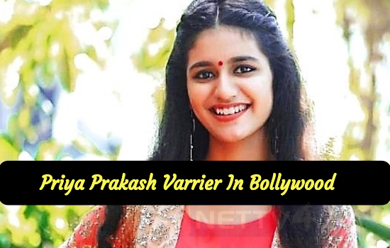 Wink Specialist Priya Prakash Varrier In Bollywood Movie!