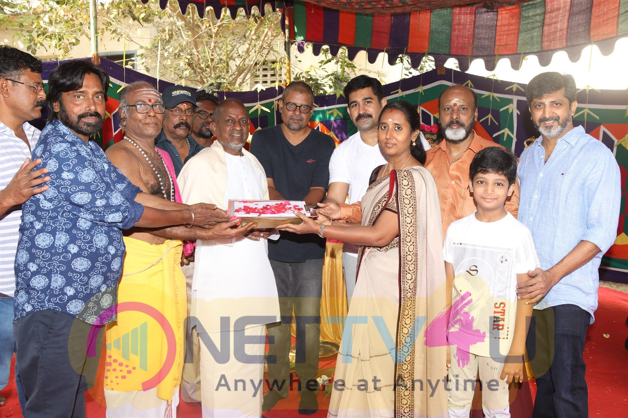 Tamilarasan Movie Pooja Photos Tamil Gallery