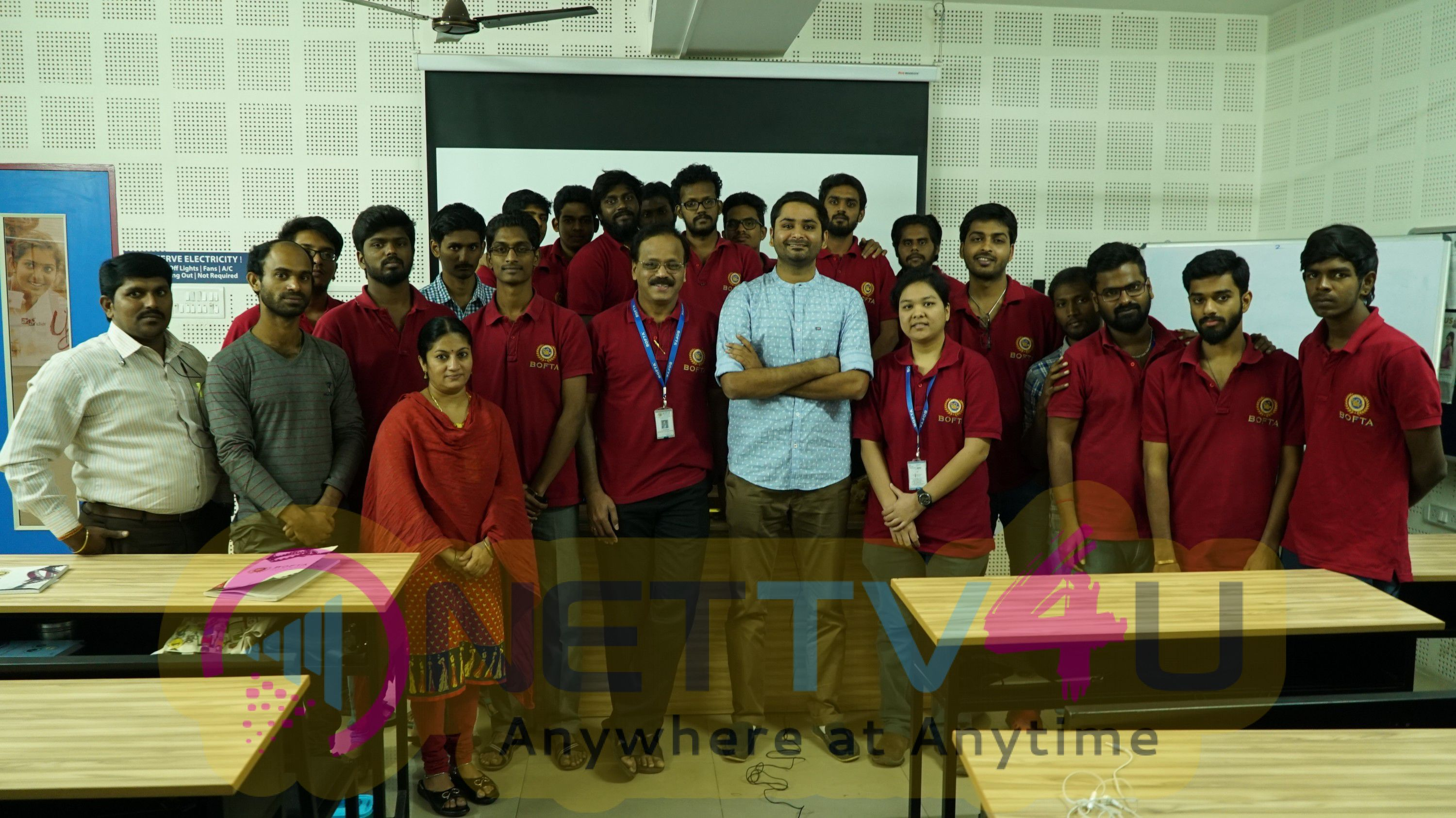Master Class With Director Rohin Venkatesan With BOFTA Students Photos