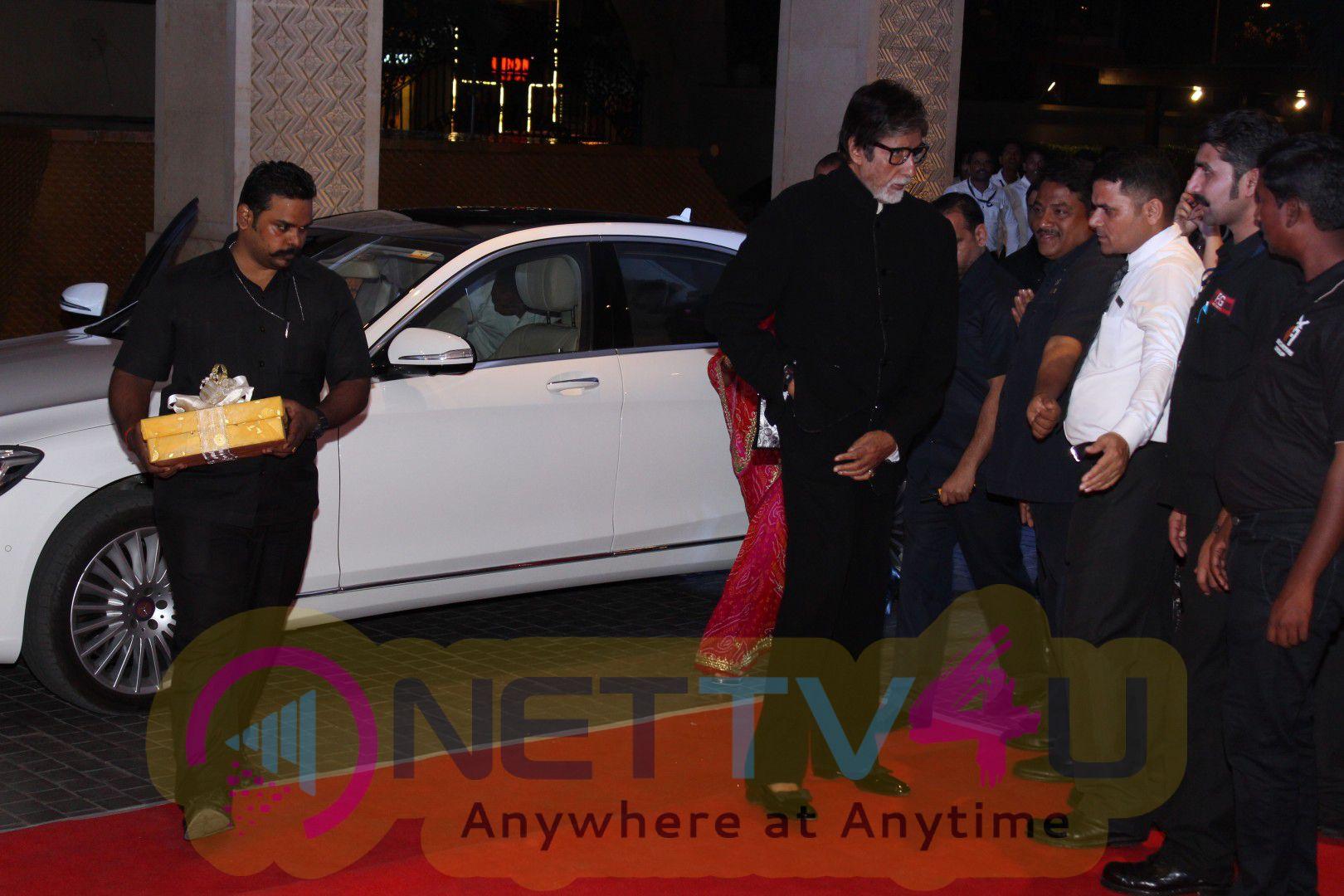 Neil Nitin Mukesh And Rukmini Sahay Reception Amitabh Bachchan-Jaya, Madhur Bhandarkar, Pooja Hegde Attend Photos Hindi Gallery