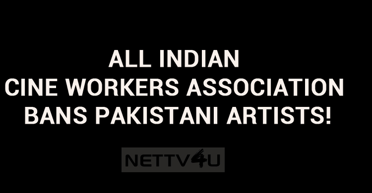 Ban On Pakistani Artists!