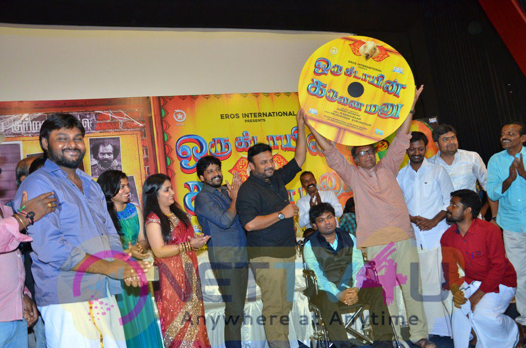 Tamil Movie Oru Kidayin Karunai Manu Audio Launch Stills