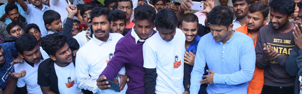 Puneeth Rajkumar Goes For Celebration Of His 43rd Birthday