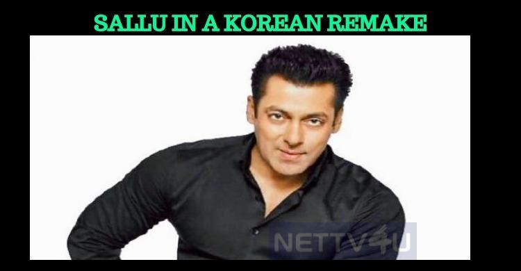 Salman Khan In A Korean Remake!