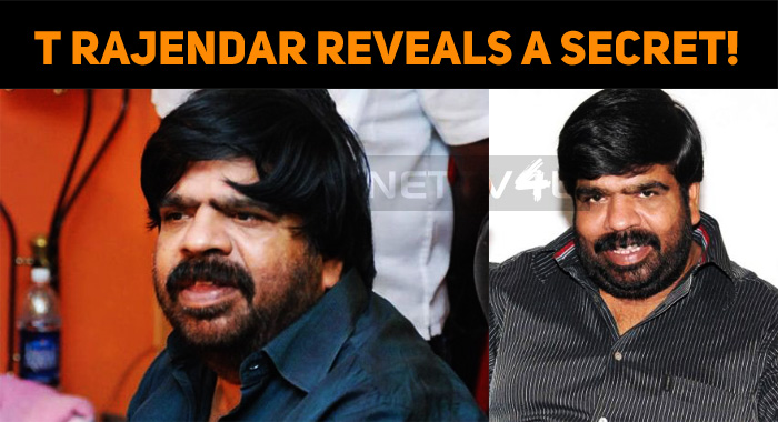 T Rajendar Reveals A Secret!